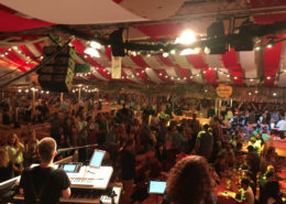 Party Band SHINE Passau Dingolfinger Kirta Bierzelt Volksfest