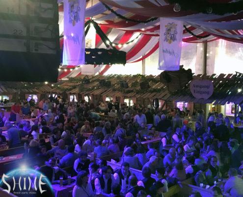 Party Band SHINE Passau Dingolfinger Kirta Bierzelt Volksfest